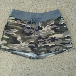 Camo Shorts- Women's Size Medium